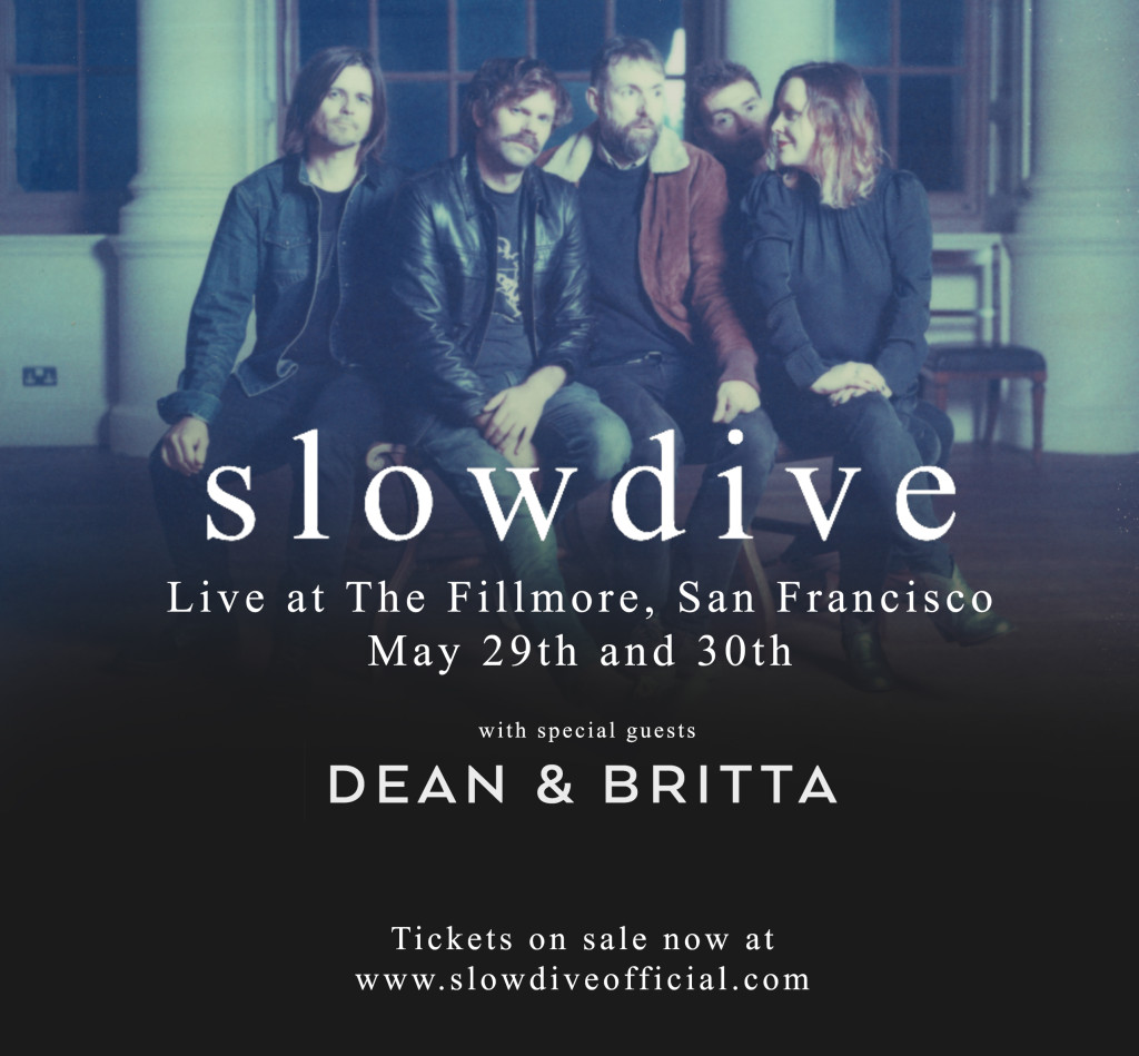 slowdive fillmore with support